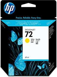 HP C9400A Original Ink Cartridge Yellow. HP 72