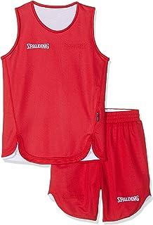 Doubleface Kids Set, Conjunto reversible camiseta y pantalones de baloncesto para Unisex-Niños