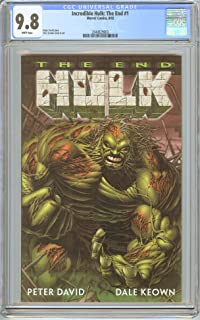 Incredible Hulk: The End #1 CGC 9.8 White Pages (2002) 2040829003