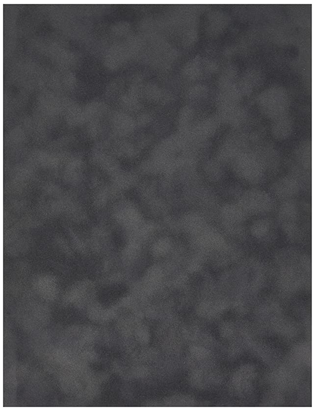 Sew Easy Industries 12-Sheet Velvet Paper, 8.5 by 11-Inch, Charcoal