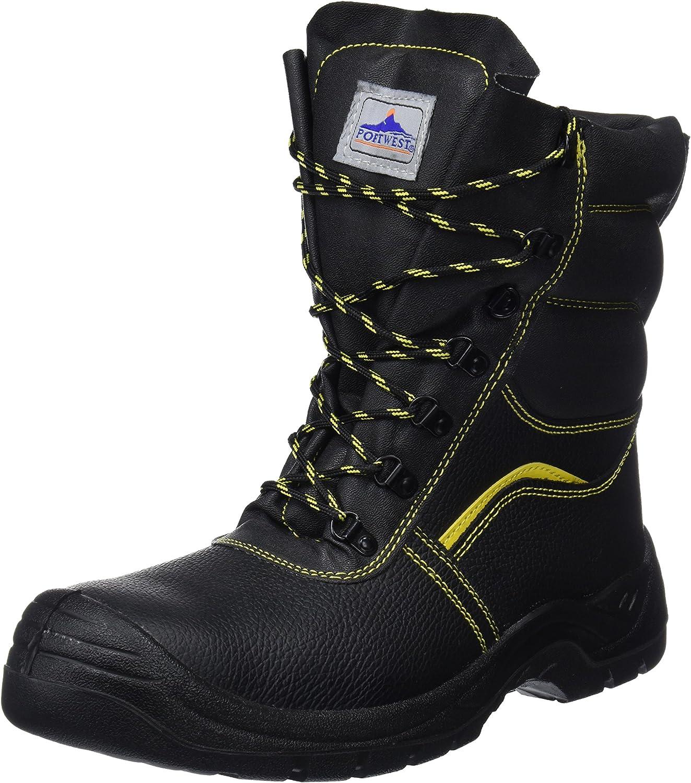 Portwest UFW05BKR0130 Regular Fit Steelite Fur Lined Predector Boot, Size 130, Black