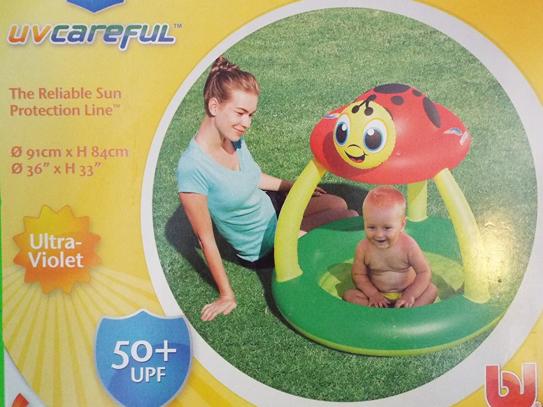 Uv Careful Sun Shade Baby Pool