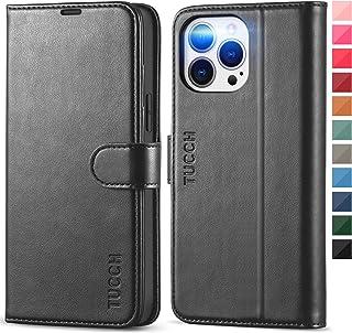 TUCCH Hülle für iPhone 13 Pro Max, Handyhülle iPhone 13 Pro Max, [RFID] [TPU] [Kartenfächer] [Ständer] [Magnet], Stoßfeste...