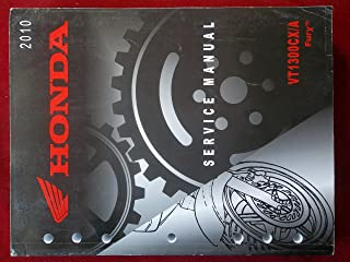 2010 VT1300CX/A Fury VT 1300 CX A Honda Service Repair Manual 2236