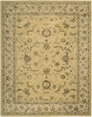 """Nourison Nourison 3000 Yellow 605 Rectangle Area Rug, 2-Feet 6-Inches by 4-Feet 2-Inches (2'6"""" x 4'2"""")"""