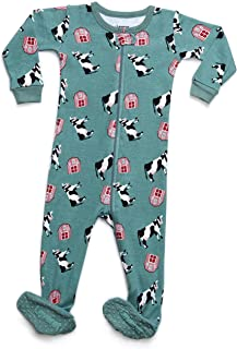 f3583136c0 Leveret Baby Boys Girls Footed Pajamas Sleeper 100% Organic Cotton Kids    Toddler Pjs Sleepwear