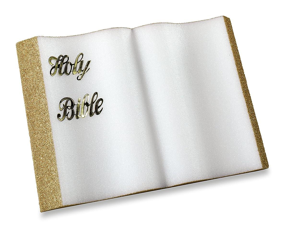 FloraCraft Styrofoam Bible 1.5 Inch x 7.75 Inch x 12 Inch Gold