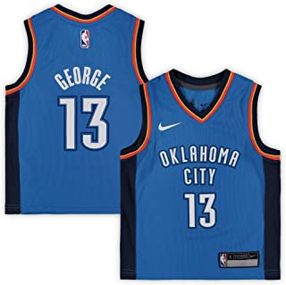 Nike Paul George Oklahoma City Thunder NBA Infants 12-24 Months Blue Road Icon Edition Player Jersey