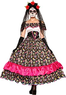 Forum Novelties Disfraz para mujer del Día de Muertos