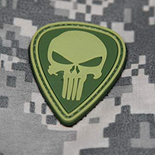 NEO Tactical Gear Punisher Morale Patch Diamond OD Green