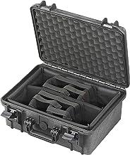 Panaro Max Cases, fotokoffer met onderverdelingen van kunststof, gevoerd, geen soort, zwart, M