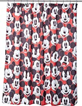 Disney Mickey Mouse Big Face Mickey Shower Curtain