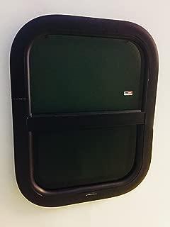 ToughGrade Vertical Sliding Black RV Window 16
