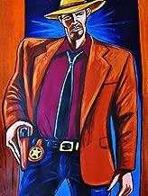 JUSTIFIED PRINT POSTER man cave art TV western series box timothy olyphant dvd blu-ray disc gun beretta set glock