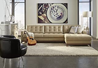 Best lazzaro leather clayton taupe sofa Reviews