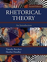 Best rhetorical theory an introduction Reviews