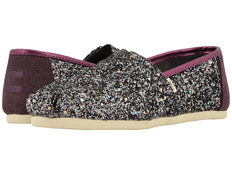 TOMS Alpargata (Pewter Party Glitter (Vegan)) Women