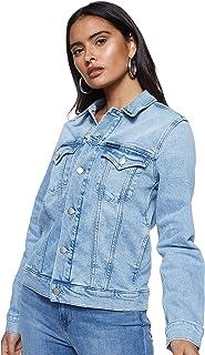 Calvin Klein Jeans Women's Foundation Trucker Outerwear
