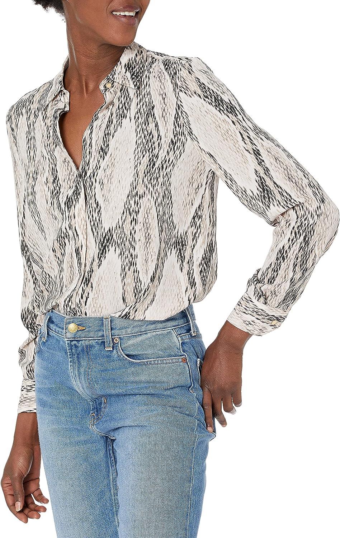 ELLEN TRACY Women's Boyfriend Shirt