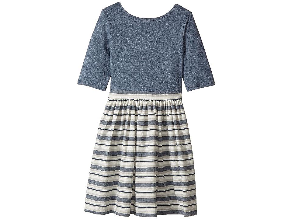 fiveloaves twofish Grand Tour Abbie Dress (Little Kids/Big Kids) (Indigo) Girl