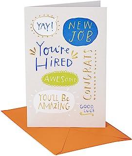 بطاقة عمل جديدة من أميريكان جريتنجز (أنت مستئلة)