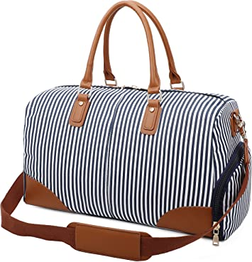 Weekend Escape canvas tote bag- tote bags travel bags