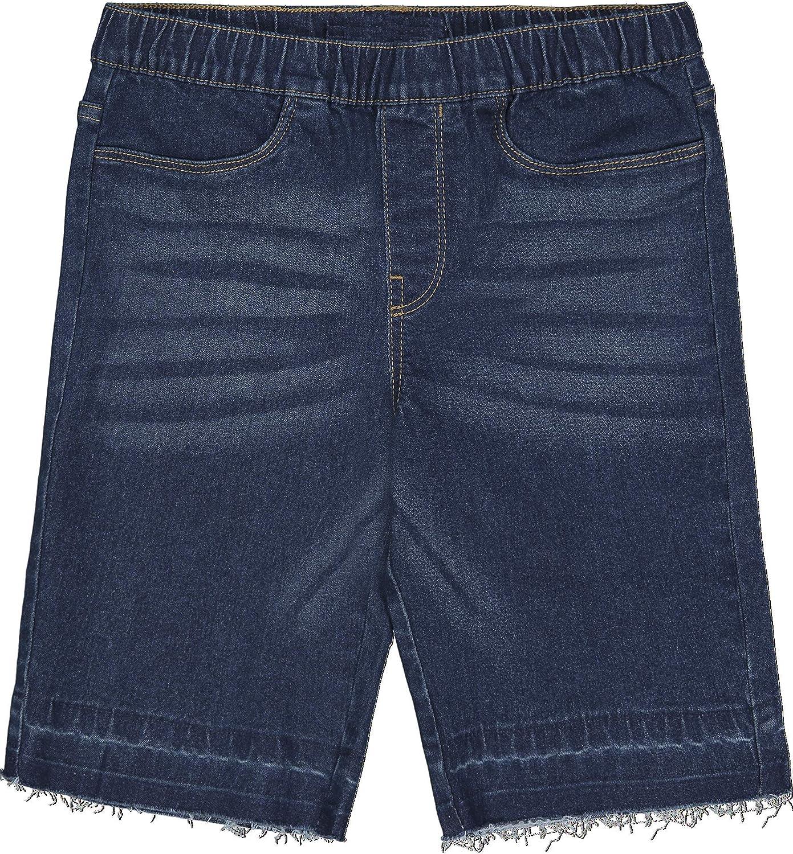 Calvin Klein Girls' New Shipping Free Bermuda 25% OFF Denim Soft Shorts Fab Super Stretch