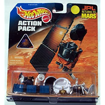 Hot Wheels JPL Returns to Mars 1999 Action Pack Ultra Rare Collectible #21260