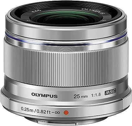 Olympus M Zuiko Digital 25mm F1 8 Lens For Micro Four Kamera