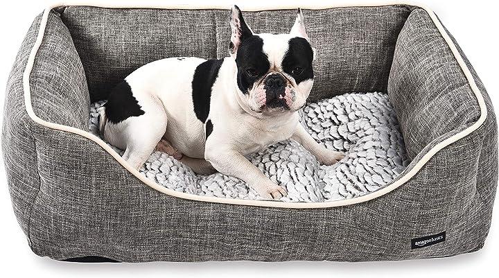 Cuccia per animali domestici amazon basics cuddler - taglia L marrone YF95111L