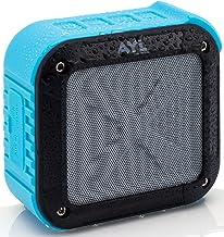 بلندگو و بلوتوث قابل حمل در فضای باز و دوش بلوتوث 4.1 توسط AYL SoundFit ، مقاومت در برابر آب ، بی سیم با عمر باتری قابل شارژ 10 ساعته ، درایور صوتی قدرتمند ، جفت با تمام دستگاه های بلوتوث (آبی اقیانوس)