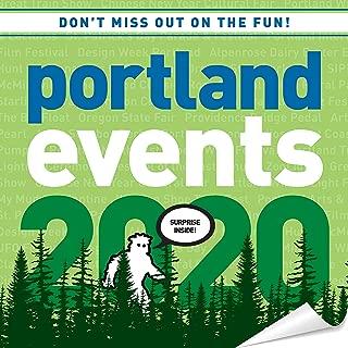 Portland Events 2020 Wall Calendar - Over 250 Portland Oregon Event Dates and Activities Already On Your Calendar!