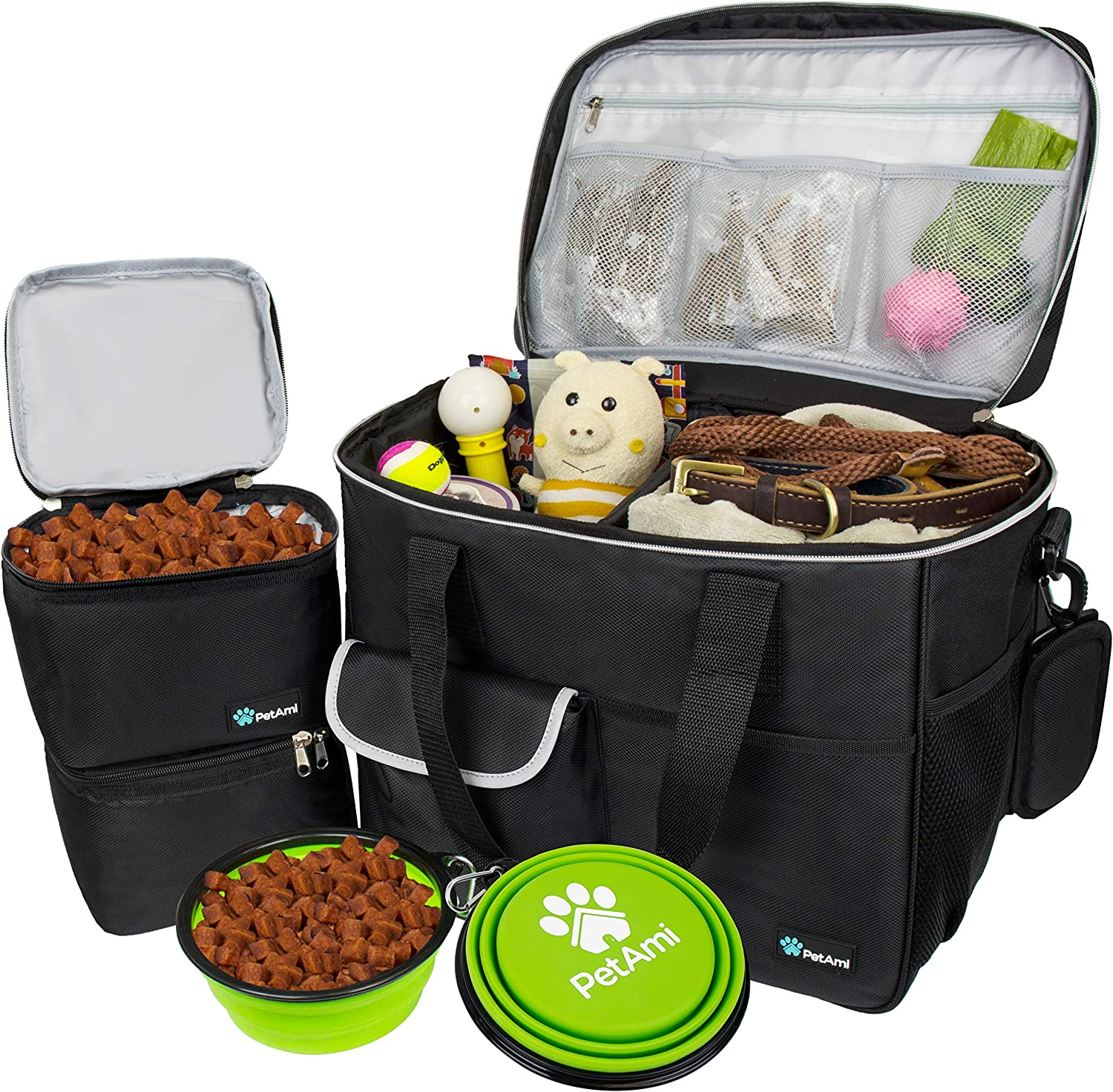 PetAmi SALENEW大人気! Dog Travel Bag Airline Mul Approved 爆売りセール開催中 Organizer with Tote
