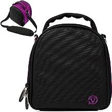 VanGoddy Laurel Plum Purple Carrying Case Bag for Nikon CoolPix Series Compact to Advanced Digital Cameras