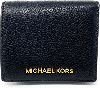 Michael Kors Jet Set Travel Medium Carryall Card Case Leather (Black)