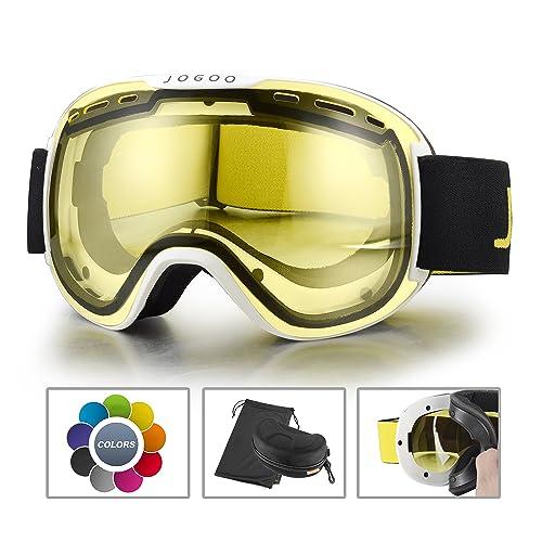 8da2c55558f Jogoo Ski Goggles For Snowboard and Snowmobile