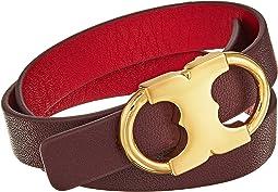 Tory Burch - Gemini Link Reversible Double-Wrap Bracelet