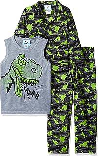 Bunz Kidz Dino Yawn - Juego de Pijama para niño (3 Piezas)