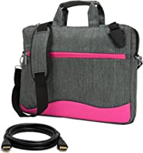 VanGoddy Wave Anti Theft Messenger Bag for Alienware 15 Gaming Laptop + 12FT HDMI Cable