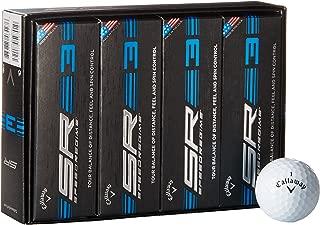 Callaway Speed Regime 3,1-dozen, Golf Balls, White