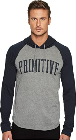 Primitive - Collegiate Raglan Popover Shirt