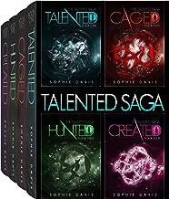 The Talented Saga: Books 1-4 plus Novella: A Dystopian Paranormal Romance (Talented Saga Boxed Set Book 1)