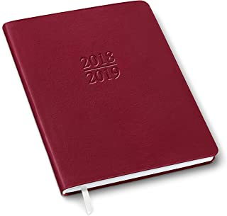 2019 Gallery Leather Family Planner Camden Red 9