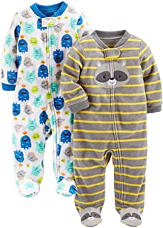 Simple Joys by Carter's Baby Boys' 2-Pack Fleece Footed...