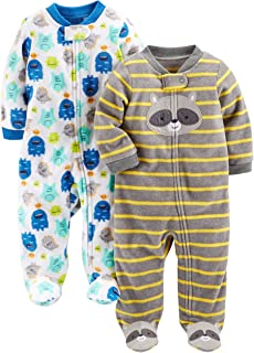 "Simple Joys by Carter""s Baby-Jungen 2-Pack Fleece Footed Sleep and Play, 2er-Pack"