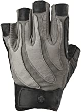 Harbinger BioForm Non-Wristwrap Weightlifting Glove with Heat-Activated Cushioned Palm (Pair)