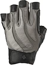 Harbinger Men's BioForm Weightlifting Glove with Heat-Activated Cushioned Palm (Pair)