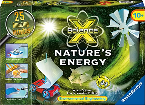 Ravensburger Science X Nature's Energy Activity Kit by Ravensburger