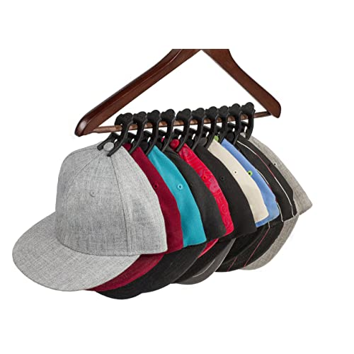 afca71177d1b03 Hanging Hat Organizer for Your Closet That Showcases Your Favorite Ball  Caps and Protects Hats Better