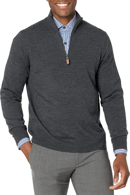 Buttoned Down Men's Italian Many popular brands Merino Quart Cashwool Regular discount Wool Midweight